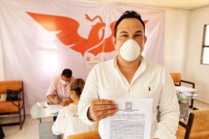 José Alfonso Mollinedo, buscará la dirigencia de Movimiento Ciudadano en Tabasco