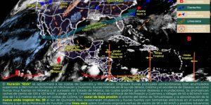 Pronostican calor y lluvias para este domingo en Yucatán