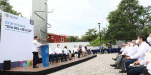 Anuncia, el gobernador de Yucatan, Mauricio Vila la construcción de un nuevo Hospital O'Horán