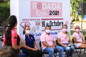 Cierran filas Lili Campos y Mujeres de Solidaridad,  contra el Cancer de Mama