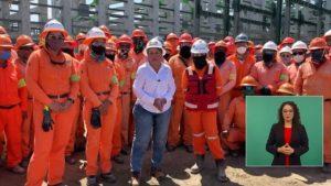 Vamos a terminar Dos Bocas con apoyo de los trabajadores: Rocío Nahle titular de SENER