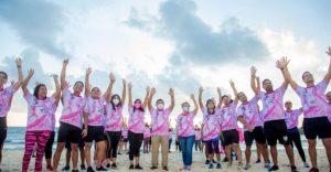 Realiza DIF Tulum, «Carrera contra el Cancer de mama»