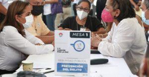 Ciudadanos participan en foro «Cancún por la Paz»