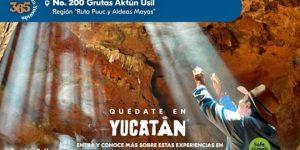 """Campaña """"365 días en Yucatán"""" llega a su experiencia número 200"""